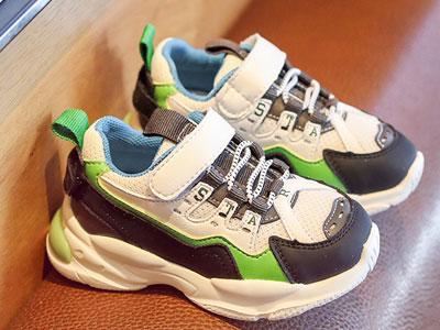 小米步宝宝学步鞋软底新款小童老爹鞋