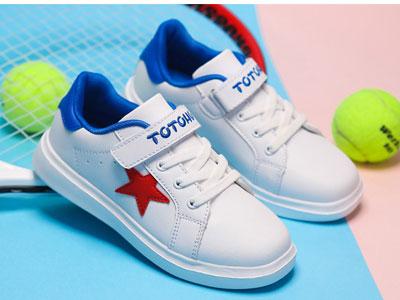 跳跳虎男童运动鞋2020春秋季新款小白鞋单鞋