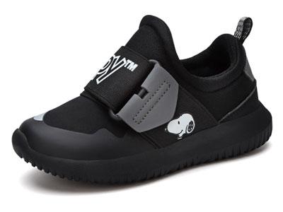 史努比童鞋男童女童运动鞋春秋新小孩跑步鞋