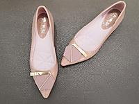 卡卡登尖头女鞋春款年新款粗跟中跟