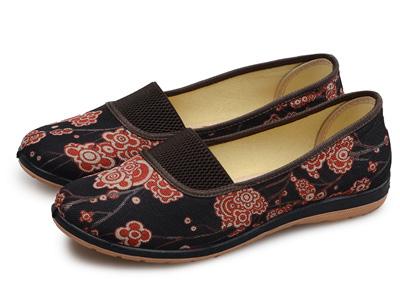 天赐福春秋新款老北京布鞋中老年软底妈妈鞋