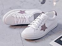 阿么秋季新款真皮小白鞋女2020爆款