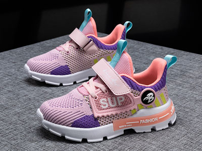 卡西龙童鞋2020秋季新款防滑耐磨软底网面透气