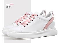 乐昂隐形内增高女鞋2020新款时尚休闲鞋潮流增高鞋