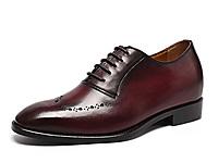 GOLDMoral金墨瑞男士正�b增高鞋皮鞋增高7CM