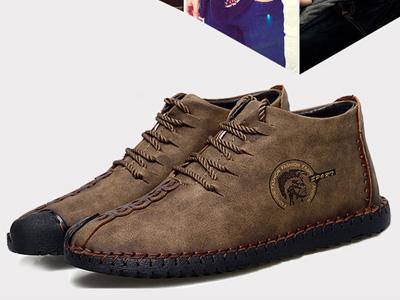 ENLEN&BENNA英伦班纳2020新款纯手工战术马丁靴