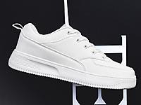 韩典娜2020新款皮面小白鞋女单鞋韩版百搭