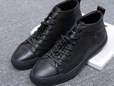 Desandlo德尚德罗新款时尚轻奢真皮男鞋产品