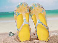 韵克洞洞鞋女韩版平底凉鞋女防滑沙滩鞋