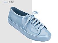 melissa-梅丽莎低帮鞋板鞋纯色简约果冻鞋