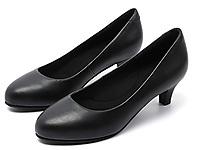 芭芭拉工作鞋空乘鞋女�跟黑色高跟鞋