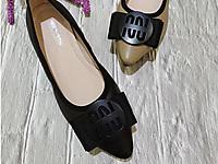创美诗女鞋2020春季平跟真皮小尖头浅口单鞋