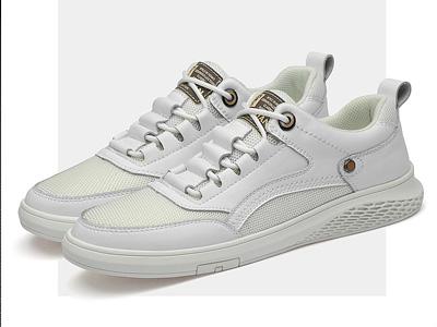 金迈王男鞋2020新款白鞋男潮鞋透气男士休闲板鞋