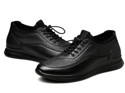 富贵鸟男鞋2020新款冬季加绒皮鞋