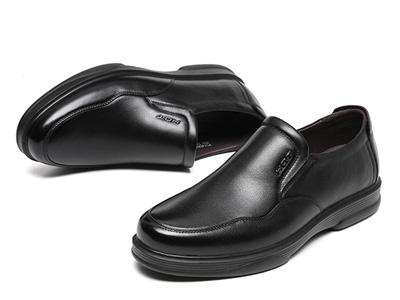 红蜻蜓男鞋2020秋冬新款商务休闲皮鞋