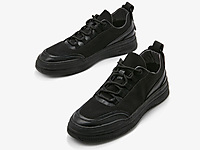 西遇男鞋2020新款秋季休闲拼接系带运动低帮板鞋