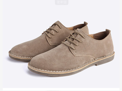 西瑞真皮休闲鞋子男内增高男鞋英伦商务潮鞋