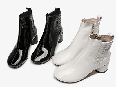 SNC圣恩熙-靴子2020新款女顯瘦煙筒靴