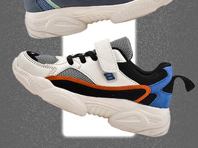 圖圖兒童鞋子男童春季2020新款透氣網面老爹鞋