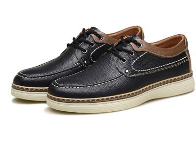 骆驼动感秋季新款皮鞋男士休闲时尚青年板鞋