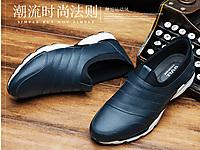 GOLL谷尔男鞋休闲皮鞋潮鞋2020新款棉鞋