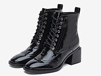 JoyPeace真美诗2020冬季新款高跟马丁靴