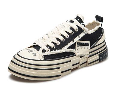 OKKO硫化帆布鞋--ins潮鞋子男情侣低帮