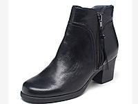 �廴崾�AEROSOLES新款冬季中跟切��西�A�^短靴