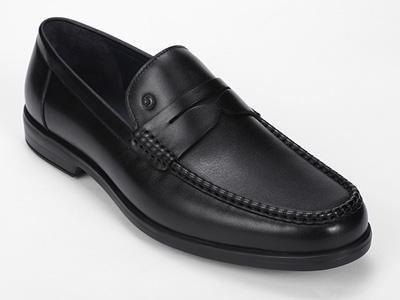 金利来皮具男士舒适商务休闲正装一脚蹬懒人皮鞋