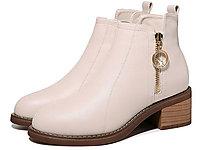 丹露女鞋2020新款短靴
