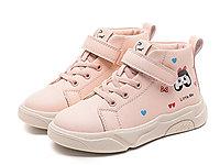 红蜻蜓童鞋2020冬季新款女童板鞋高帮运动鞋