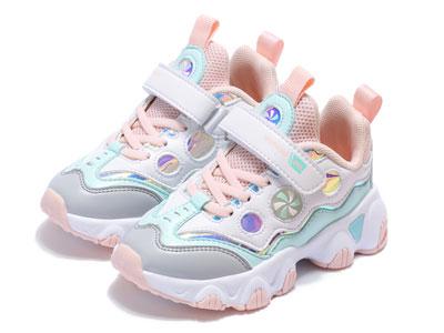 牧童童鞋2020新款女童运动鞋秋冬皮面加绒保暖