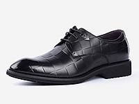 老鞋匠秋季休闲商务皮鞋男真皮时尚青年英伦皮鞋