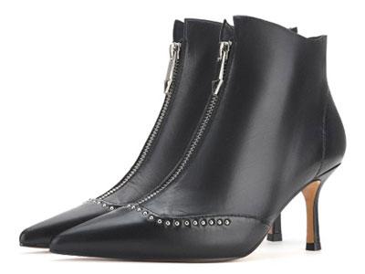 Classical卡斯高2020秋冬新款單靴尖頭短靴