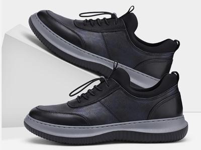VOLO犀牛男鞋2020秋季新款真皮潮流休閑運動鞋