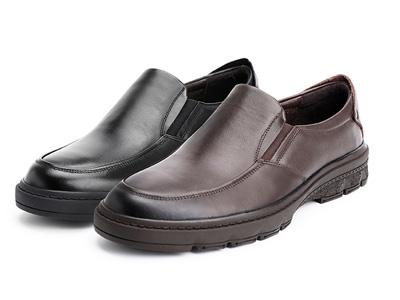 Senda森达2021春秋季新款打蜡真皮舒适休闲鞋