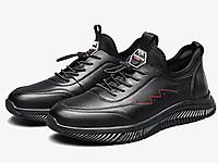 意尔康男鞋2020秋季新款真皮韩版休闲板鞋皮鞋