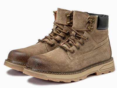 Semir男士马丁靴高帮男鞋冬季英伦雪地靴中帮男靴