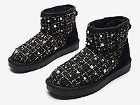 月芽儿雪地靴女短靴2020冬新款韩版百搭短筒