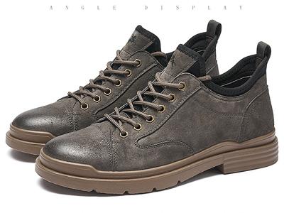 保羅蓋帝ins馬丁靴男靴英倫風工裝靴新款男士