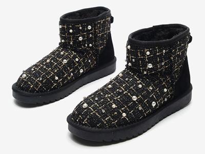 月芽兒雪地靴女短靴2020冬新款韓版百搭短筒