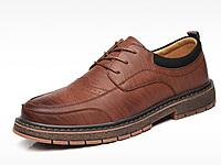 西瑞男士休闲鞋内增高鞋子男鞋大码英伦皮鞋