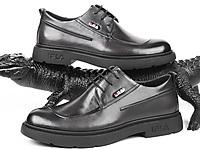 老爷车皮鞋男士真皮商务正装皮鞋秋季休闲鞋