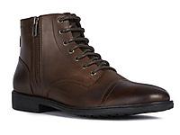 GEOX健乐士男鞋2020秋季新款舒适低跟复古马丁靴