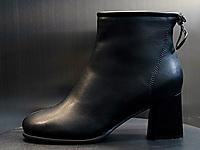 名典高跟�R丁靴女2020新款秋冬加�q真皮靴子百搭