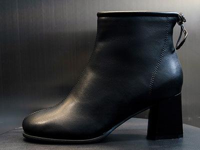 名典高跟马丁靴女2020新款秋冬加绒真皮靴子百搭