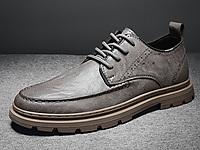 卡丹路男鞋冬季新款英伦风百搭商务小皮鞋韩版休闲