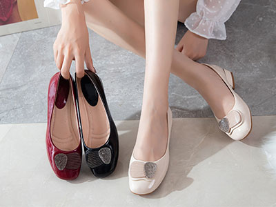 圣恩熙女鞋2021初秋新款展示