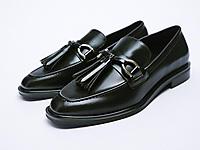 ZARA-秋季新品女鞋莫卡辛乐福鞋