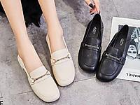 巨日小皮鞋真皮女鞋2021新款韩版低跟女鞋子单鞋